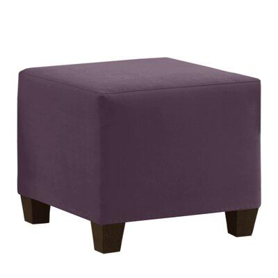 Premier Cube Ottoman Upholstery: Purple