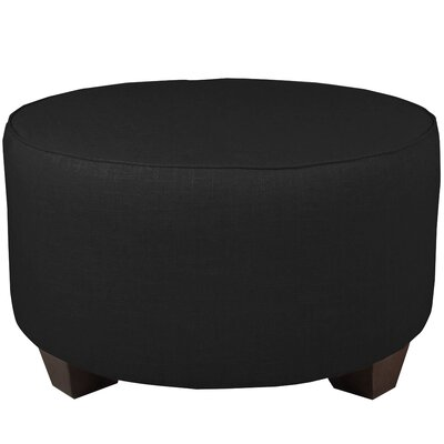 Cocktail Ottoman Color: Black