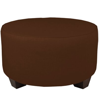 Cocktail Ottoman Color: Chocolate