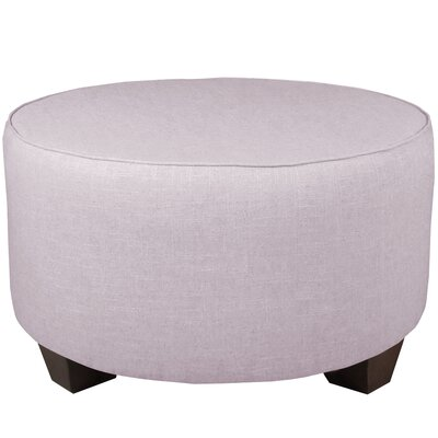 Round Cocktail Ottoman Color: Smokey Quartz