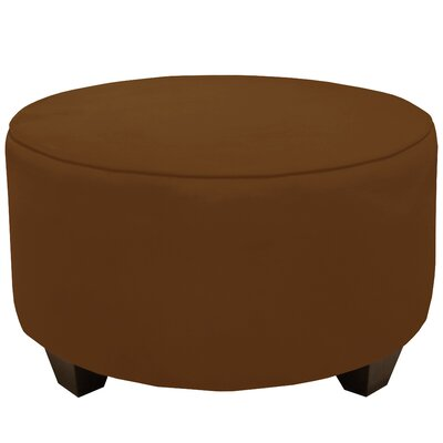 Premier Round Cocktail Ottoman Upholstery: Chocolate