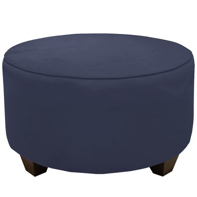 Premier Round Cocktail Ottoman Upholstery: Lazuli Blue