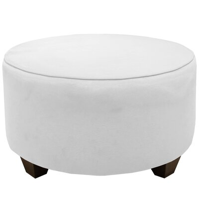 Premier Cocktail Ottoman Upholstery: White