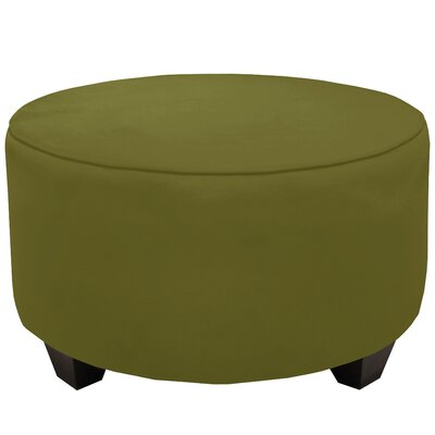 Round Cocktail Ottoman Color: Applegreen