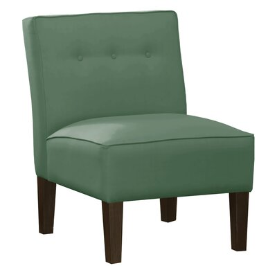Garden Slipper Chair Upholstery: Regal Laguna