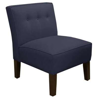 Slipper Chair Color: Navy