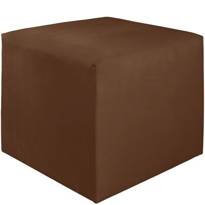 Premier Cube Ottoman Color: Chocolate