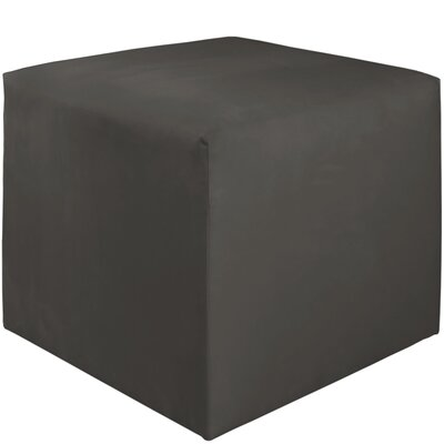 Premier Cube Ottoman Color: Charcoal