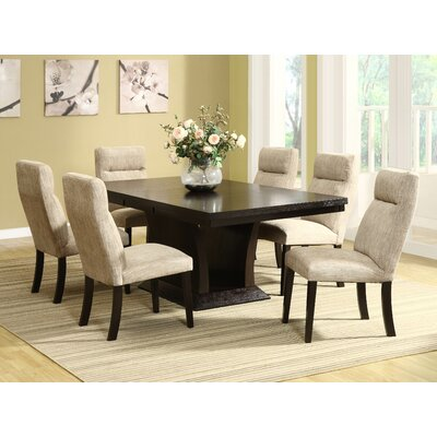 Morency 7 Piece Dining Set