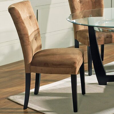 Maynor Side Chair (Set of 2) Upholstery: Camel