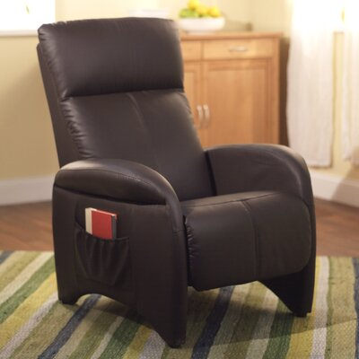 Aberdeen Manual Recliner Upholstery: Chocolate