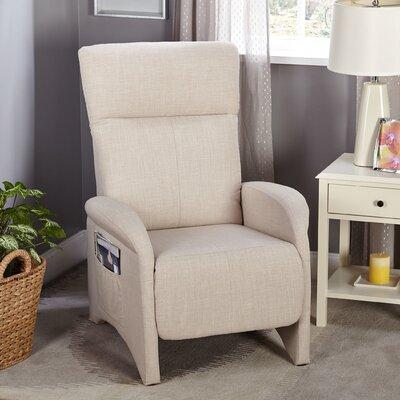 Aberdeen Chaise Recliner Upholstery: Beige