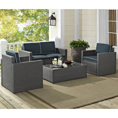 4-Piece Brianne Patio Seating Group