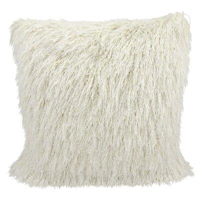 Brayden Studio Shag Throw Pillow