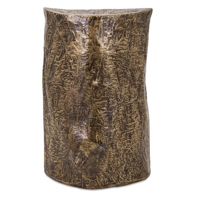 Brayden Studio Deka Brass Clad Tree Wall Deco