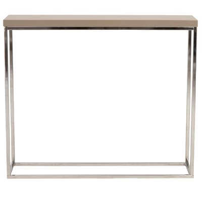 Brayden Studio Console Table Finish: Taupe Lacquer
