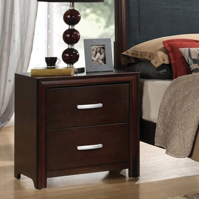 Medellin 2 Drawer Nightstand