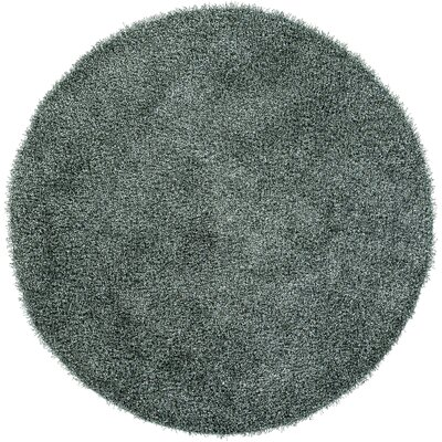 Mchaney Sea Green Area Rug Rug Size: Round 8
