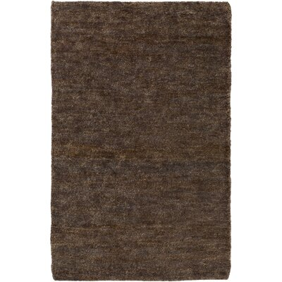 Henslee Brown Area Rug Rug Size: Rectangle 4 x 6