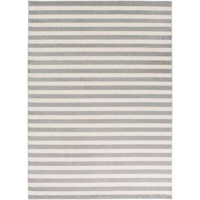 Eridani Ivory/Gray Area Rug Rug Size: 9'3