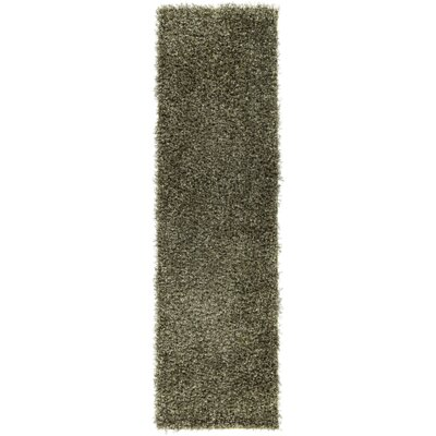 Mchaney Hand-Tufted Green Area Rug Rug Size: Runner 23 x 8