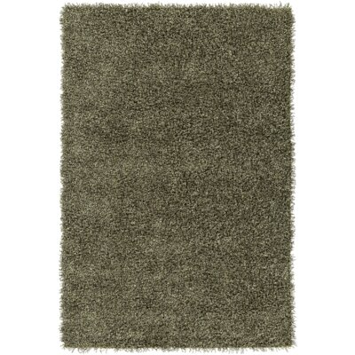 Mchaney Hand-Tufted Green Area Rug Rug Size: Round 6
