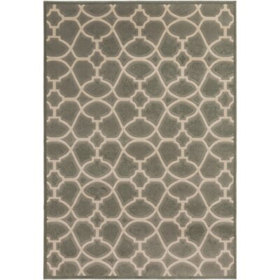 Melgar Olive/Beige Area Rug Rug Size: Rectangle 710 x 112