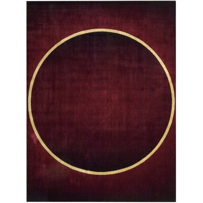 "Mcreynolds Burgundy Area Rug Rug Size: 1'9"" x 2'9"" BRSD2689 29935686"