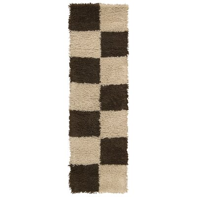 Splendor Hand-Tufted Beige Area Rug Rug Size: Runner 2 x 7