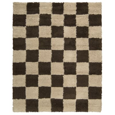 Splendor Hand-Tufted Beige Area Rug Rug Size: Rectangle 5 x 8
