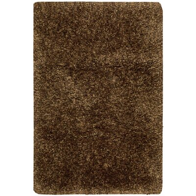 Mefford Hand-Tufted Chocolate Area Rug