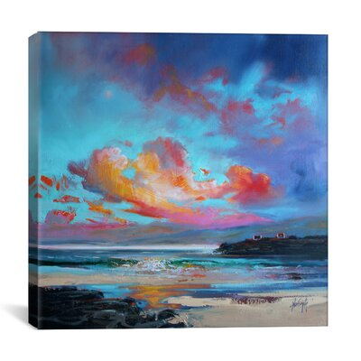 Uist Light II by Scott Naismith Painting Print on Wrapped Canvas Size: 37