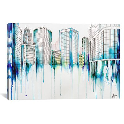 Nightowl by Marc Allante Painting Print on Wrapped Canvas Size: 12