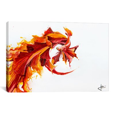 Ignite by Marc Allante Painting Print on Wrapped Canvas Size: 12