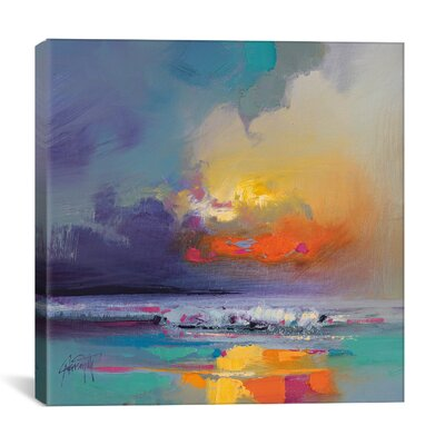 Cumulus Dissonance Study by Scott Naismith Painting Print on Wrapped Canvas Size: 18