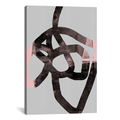 What he Thought of Himself by Federico Saenz Graphic Art on Wrapped Canvas Size: 26