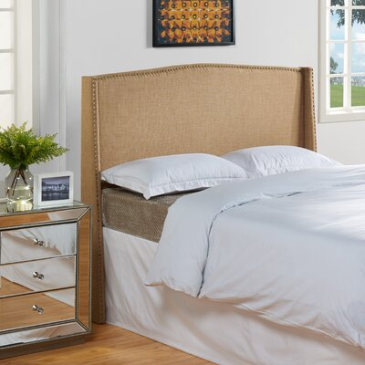 Stratford Upholstered Headboard Size: Full / Queen, Color: Tweed