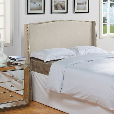 Stratford Upholstered Headboard Size: King / California King, Color: Rio Linen