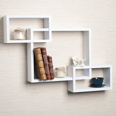 3 Intersecting Wall Shelf