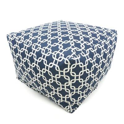 Danko Bean Bag Ottoman Upholstery: Navy Blue