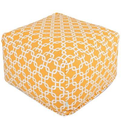 Danko Bean Bag Ottoman Upholstery: Yellow