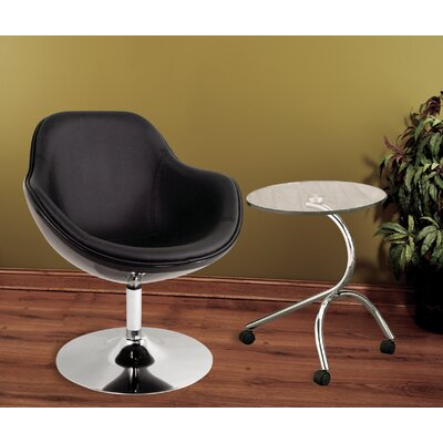 Orbison Lounge Chair Upholstery: Solid Black
