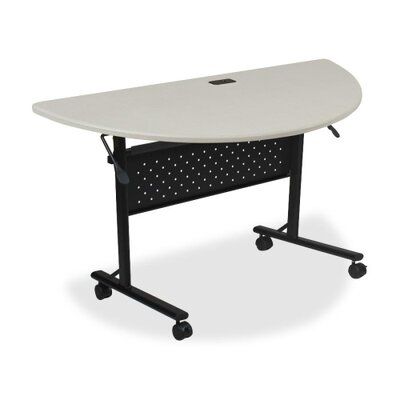 Ehmann Flipper Training Table with Wheels Tabletop Finish: Silver, Size: 5 H x 29.5 W x 51.2 D