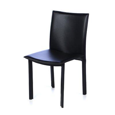 Berggren Parsons Chair Upholstery: Black
