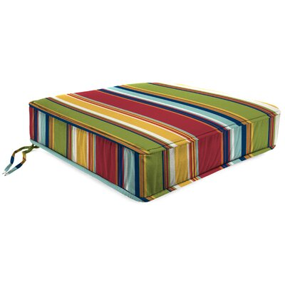 Deep Seating Outdoor Lounge Chair Cushion Fabric: Westport Garden