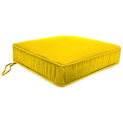 Deep Seating Outdoor Lounge Chair Cushion Fabric: Veranda Lemon