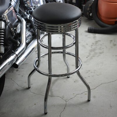 Mcguire 30 inch Swivel Bar Stool
