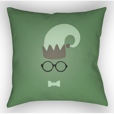 Marro Indoor/Outdoor Throw Pillow Color: Green / Gray, Size: 20 H x 20 W x 4 D