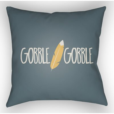 Marx Indoor/Outdoor Throw Pillow Size: 18 H x 18 W x 4 D, Color: Blue/White/Orange
