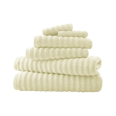 Bishopsworth 6 Piece Towel Set Color: Ivory